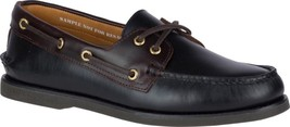 Sperry Top-Sider Gold Cup A/O 2-Eye Boat Shoe (Men's) in Black/Amaretto ... - $177.40