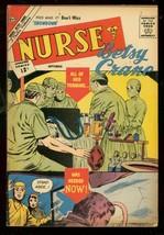 Nurse Betsy Crane #18 1962-CHARLTON COMICS-SURGERY FN- - $31.53