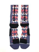 Nike Elite Cushioned Crew Basketball Socks Custom Football Size XL New P... - $14.84
