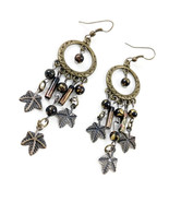 Black and Brass Ethic Boho Earrings by VINTAGIES EARRING *0* Limi - $5.94