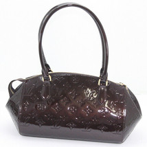 5d66cebe1ef7 Louis Vuitton Vernis Sherwood PM amaranth shoulder bag M91493 Women's -  $1,322.42