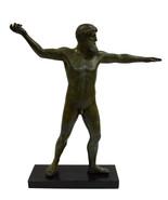 Zeus or Poseidon Artemision statue Bronze sculpture identification as Zeus - $879.99