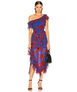 2019 NEW AUTHENTIC Marissa Webb Sofia Print Dress in Peony Klein Blue $798 - $212.00