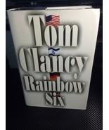 Rainbow Six by Tom ClancyA Jack Ryan Novel 1998 Hardcover *FBGCOLLECTI... - $7.69