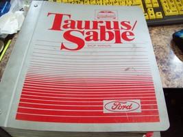 1987 FORD TAURUS & Mercury Sable Workshop Service Shop Repair Manual Binder - $12.86