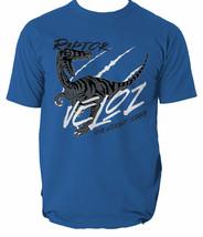 T Shirt Raptor Dinosaur Mens Park Rex Bingo Dino Dna Retro Colour S-3XL - $12.42+