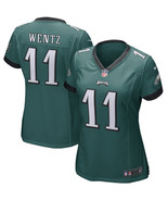 Women philadelphia eagles 11 carson wentz green nfl elite jerseys thumbtall