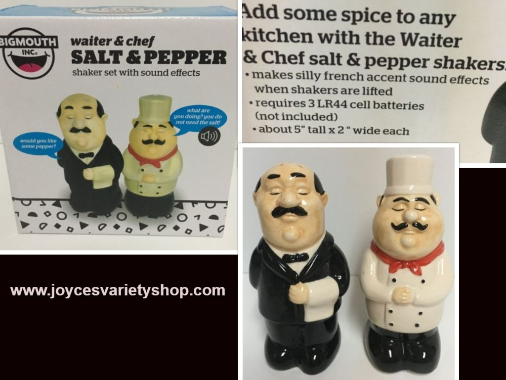 French salt pepper web collage