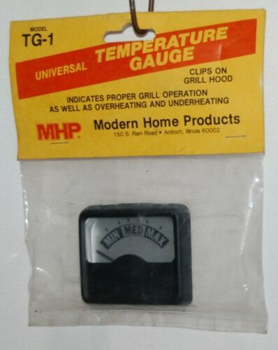 MHP TG1 Clip On Universal Temperature Gauge Color Black