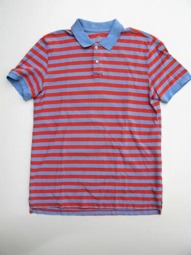Gap Polo Shirt Peach & Blue Striped the Modern Pique Polo Shirt M $30