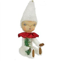 "14.5"" Gathered Traditions ""Rue"" Snow Baby Decorative Christmas Figure - $34.64"