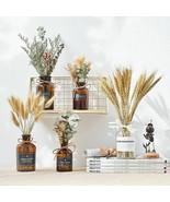 Pastoral Glass Vase Home Decoration Accessories Modern Fake Flower Desk ... - $32.92
