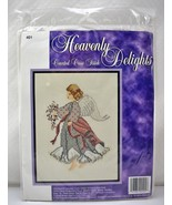 Sugarplum Express Heavenly Delights Angel #401 Counted Cross Stitch Kit ... - $7.55