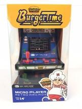 """Dreamgear 6"""" Retro Burgertime Micro Player Retro Arcade Case Game Multic... - $23.17"""