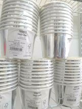 party Silver Treat Cups 50 cups= five 10 count packs by spritz sealed new! image 4
