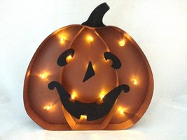 Gerson Metal LED Jack-o-Lantern Decoration - $14.99