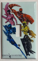 Power rangers Light Switch Outlet Toggle Rocker Wall Cover Plate Home decor