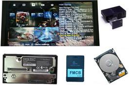 Free McBoot Sony Playstation FMCB 500GB HDD OPL ESR HD Loader Network ad... - $81.52