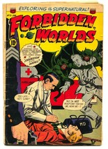 Forbidden Worlds #13 1953-Wild demon attack cover-Pre-code horror - $98.94