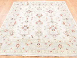 6'x6' HandKnotted Peshawar With Mahal Design Square Oriental Rug G40742 - $525.46