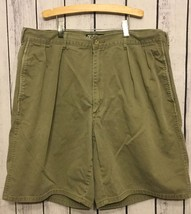 Polo Chino's By Ralph Lauren Button Pleated Stone Colored Shorts Size 36 - $10.49