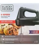 BLACK+DECKER - MX3200B - 6-Speed Hand Mixer with 5 Attachments & Storage... - $43.51