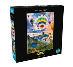 1000 Piece Jigsaw Puzzle Buffalo Signature Coll. 26 in x 19 in, KISS THE... - $19.90