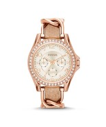 Fossil Women's Riley Leather Watch (Style: ES3466) - $139.99