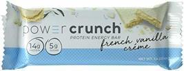 Power Crunch Protein Energy Bar Orignal, French Vanilla Creme, 1.4-Ounce... - $49.99