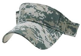 Buy Caps and Hats Camo Visor Digi Camouflage Golf Hat ACU Digital Military for M - £6.23 GBP