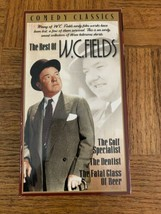 The Best Of W.C. Fields VHS - $87.88