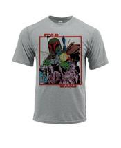 Star Wars Dri Fit graphic T-shirt moisture wick Boba Fett retro comic SPF tee image 2