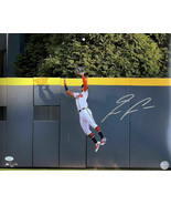 Ronald Acuna Jr. Signed 16x20 Atlanta Braves Jump Photo JSA ITP - $1,772.09