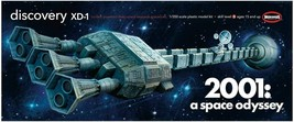 Moebius 1/350 Scale Space Odyssey Discovery XD-1 Plastic Model Kit 2001-8 - $59.35