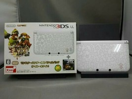 Nintendo 3DS LL console only Monster Hunter Rajan Gold (SPRSDLAB) JAPAN - $123.18