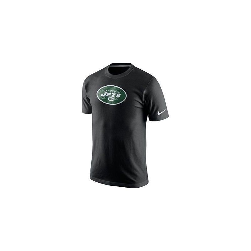 da355b2b NWT New York Jets Nike Fast Logo Black Size Small T-Shirt - $23.71