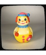 1972 Clown Wobble Rattle The First Years Vintage Toy - $14.85