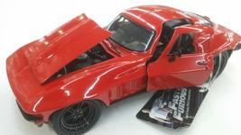 JADA Fast And Furious Chevy Corvette 1966 1:24 Diecast Car - $23.75