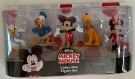 Disney Mickey Mouse Collectible Figure Set Mickey Minnie Daisy Donald Pluto 5 - $14.99