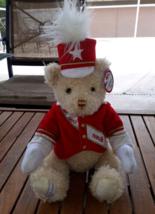 Macy's Thanksgiving Day Parade Plush Teddy Bear Band Major Stuffed Anima... - $11.87