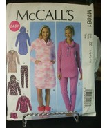 McCall's M7061 Tops, Dresses, Shorts, Pants & Slippers Pattern - Size L ... - $8.90