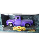 Ertl 1956 Ford Street Rod Truck 1:18 NIB Diecast Model Car purple - $29.50