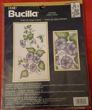 Bucilla Morning Glories with Hummingbird Counted Cross Stitch Kit  - $24.99