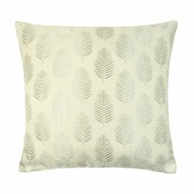 """JACQUARD CHECK LATTE BEIGE 22"""" 55CM PIPED CUSHION COVER"""