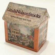 Linda Nelson Stocks Stonewall Visit 100 pc Puzzle House Cottage Box 1999 Sealed - $13.73