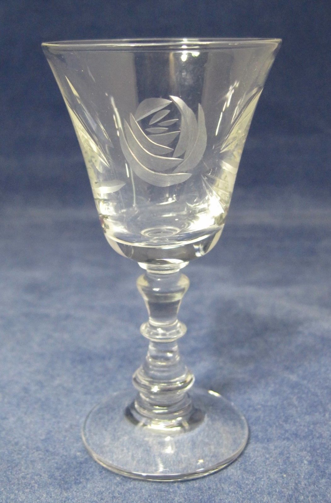 "Primary image for Fostoria Rose 1951 - 1973 Cordial Glass 3 3/8"" Tall In Great Shape Lemonchello"