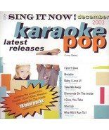 Sing It Now! December 2003 Karaoke Pop music cd brand new cd2 - $28.47