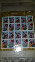 The Art of Disney Celebration USPS 2005 Stamp Sheet of 20 Mint MIP MNH - $9.50