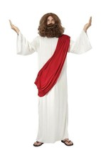 JESUS COSTUME, EASTER/CHRISTMAS/RELIGIOUS FANCY DRESS COSTUME #US - $25.50