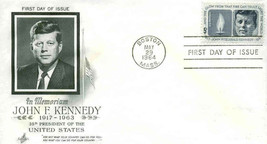 5c John F Kennedy 1964 Envelope First Day Cover - $4.95